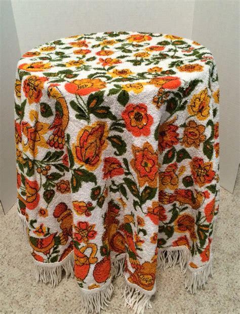 vintage kitchen tablecloth
