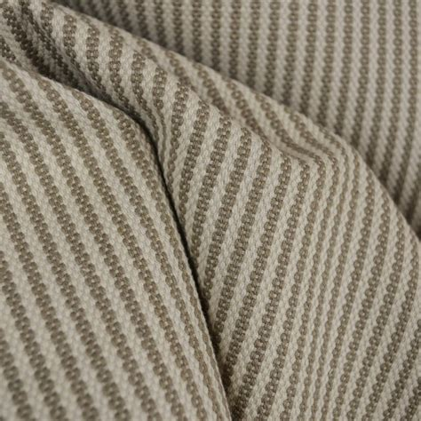 striped linen upholstery fabric donacloney taupe striped linen fabric traditional