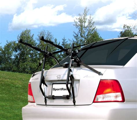 Car Trunk Bike Rack by Sportrack 3 Bike Trunk Rack Without Cradles