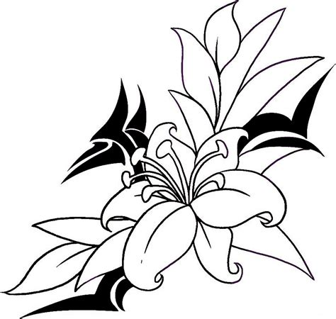 trace tattoo design flower designs the is a canvas