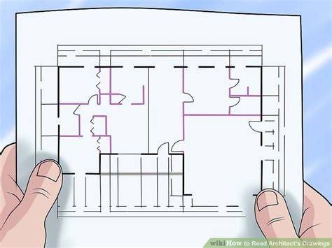 Plumb Center Reading by How To Read Architect S Drawings With Pictures Wikihow