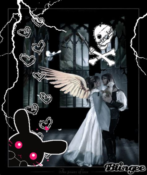 imagenes de amor gotico enamorados goticos picture 97550632 blingee com