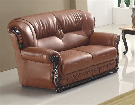 eagles couch american eagle sofa 187 7983 sofa in brown bonded leather by