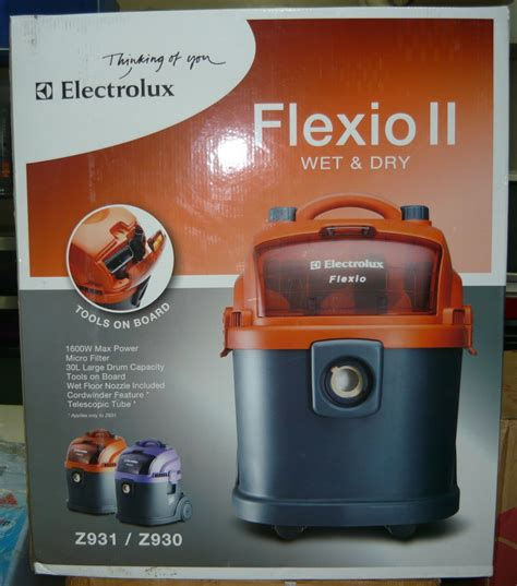 Vacuum Cleaner Electrolux Z931 electrolux flexio ii and vacuum cleaner cebu appliance center