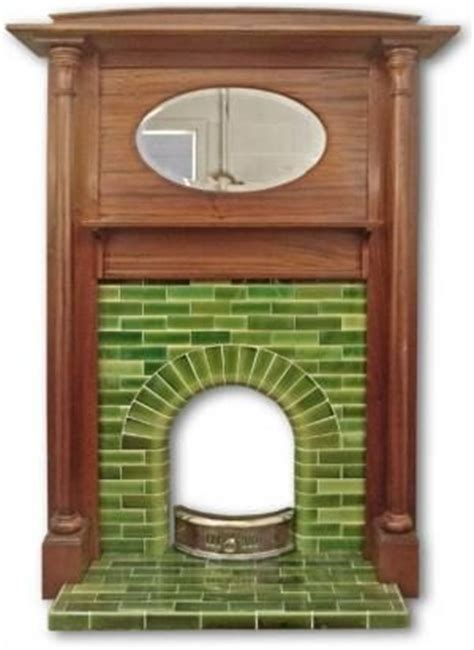 1930s Fireplace Tiles by Edwardian Arch Fireplace Made With Dipped Tiles