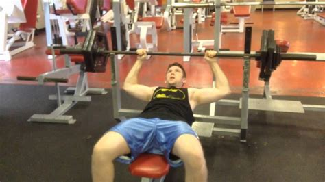 how to max out bench 260 265 bench press max youtube