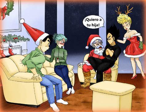 imagenes de navidad dragon ball z fondos de navidad de dragon ball super para twitter mas