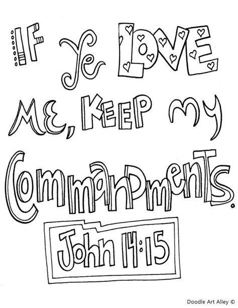 how to do commandments in doodle god bible verse coloring pages 14 6 coloring pages