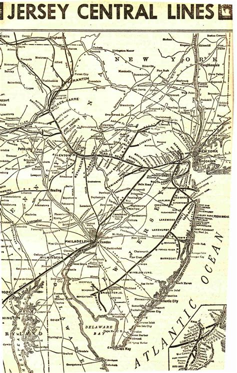 the central railroad of new jersey an illustrated guide book with road maps classic reprint books cnj
