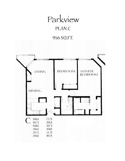 parkview floor plan parkview floor plan c