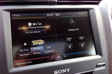 ford sync support myford touch applink support in the works motor review