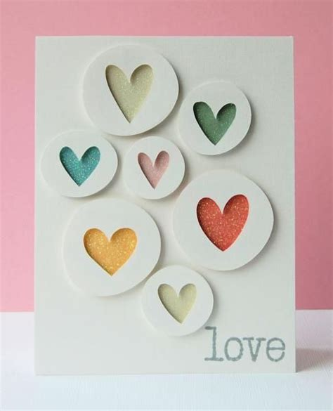 Handmade Cards For Valentines Day - give out some handmade with these 21 diy s