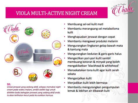 Minyak Viola tips menjaga kulit muka bersama viola secret