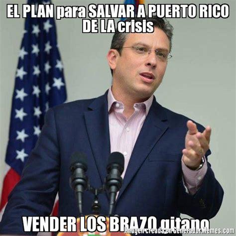 Alejandro Garcia Padilla Meme - el plan para salvar a puerto rico de la crisis vender los