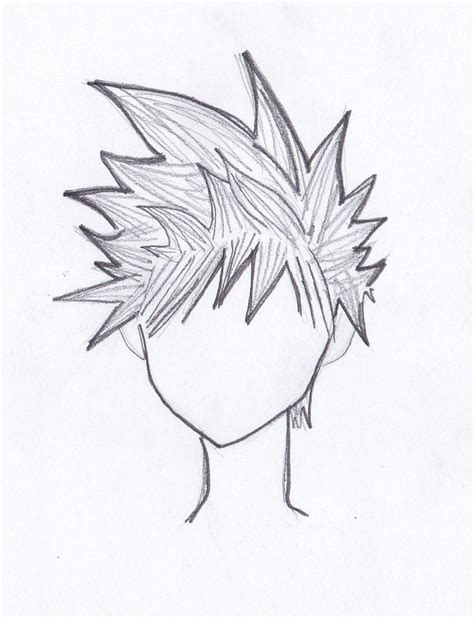 how to draw spiky anime hair definitive guide to drawing manga hair