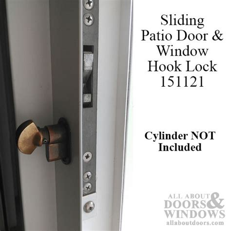 Locks For Sliding Glass Patio Doors by Hook Lock 6760 For Sliding Glass Patio Doors And Sliding