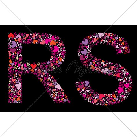The gallery for --> Letter R And S In Heart R Alphabet Wallpaper In Heart