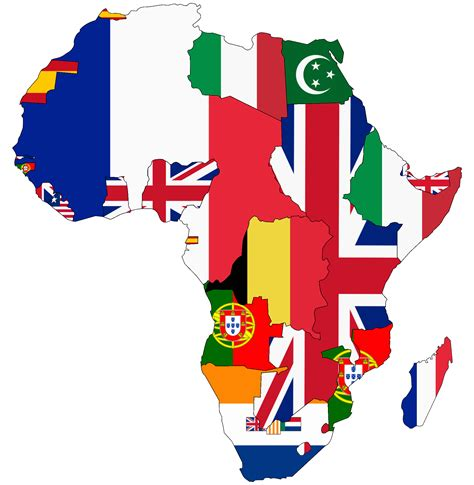 africa map flags flag map images