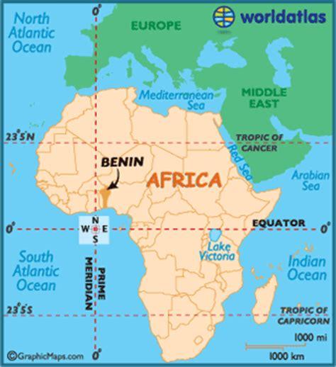 benin on the map benin map geography of benin map of benin worldatlas