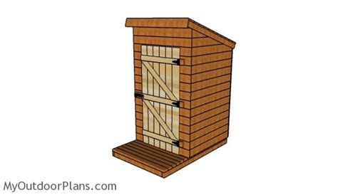 out house plans outhouse door plans myoutdoorplans free woodworking plans and projects diy shed
