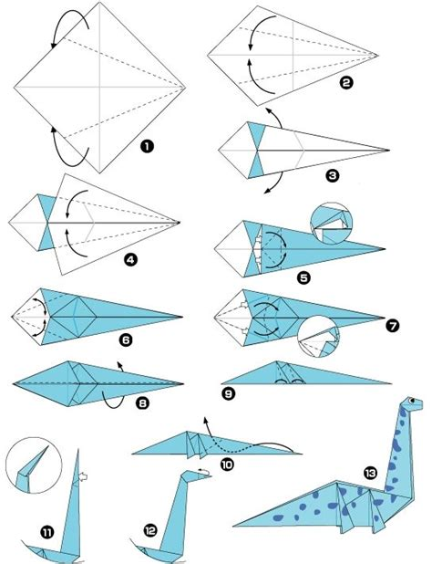 Origami Dinosaur Triceratops - origami de dinosaure origami my boys boys