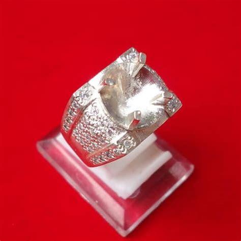 Dijamin Senter Batu Cincin Model Pulpen Silver model cincin perak kode 110 pusaka dunia