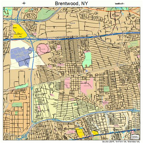 brentwood map brentwood oakley map