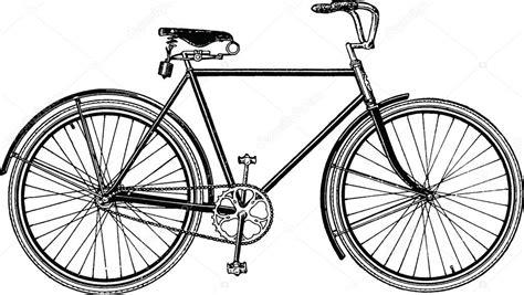 imagenes de bicicletas a blanco y negro bicicleta dibujo vintage foto de stock 169 unorobus gmail