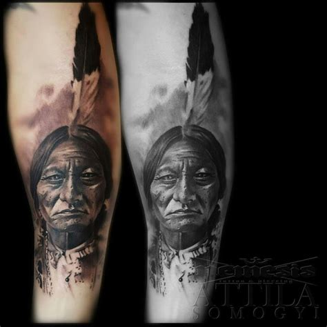 sitting bull tattoo 60 best portfolio images on