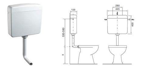 cassetta water cassetta wc esterna a zaino topazio oli