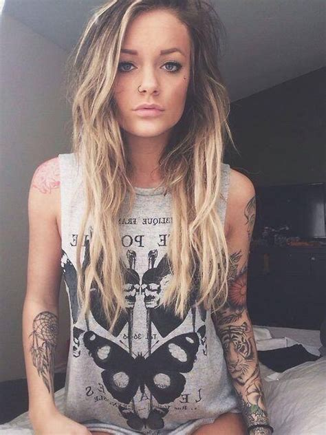 tattooed girl tumblr name cool