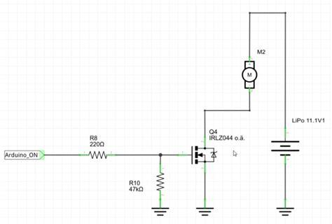 fet transistor arduino mosfet schaltung mit arduino ansteuern