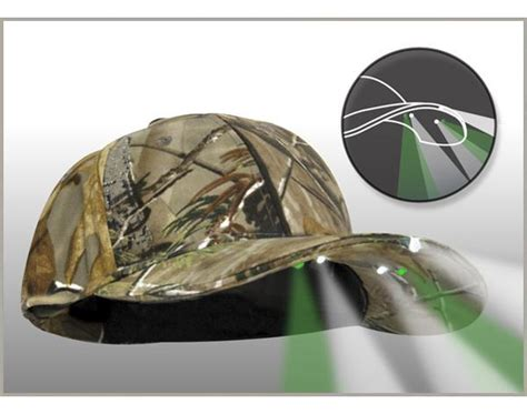 hat with led lights panther vision cap light hands free led realtree