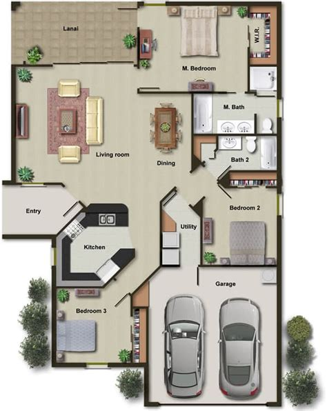 colored floor plans draw architectural 2d drawings in autocad color floor