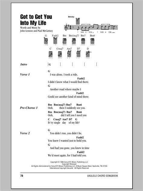 strumming pattern how you get the girl tablature guitare got to get you into my life de the