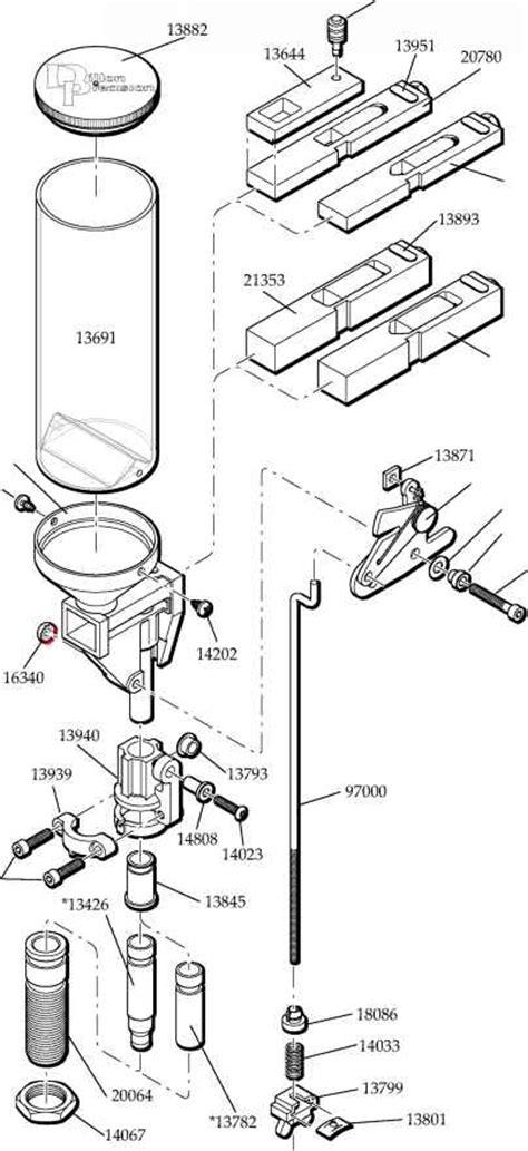 RL B Automatic Powder System - Dillon Precision RL 550B