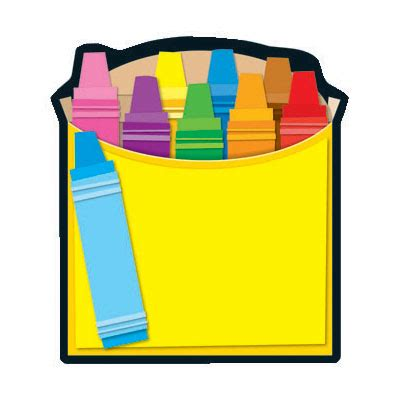 Crayon Box Template Free