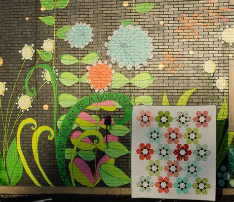 Hexie Garden Quilt Pattern by Hyacinth Quilt Designs Hexie Garden
