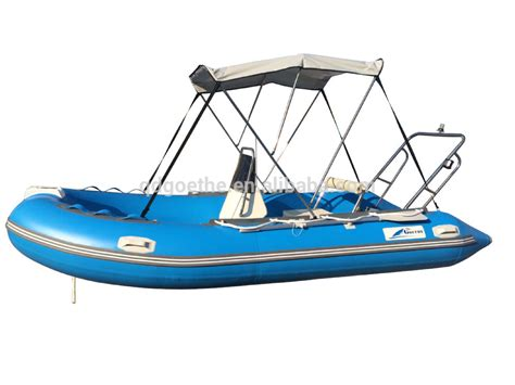 inflatable boat steering console 6 people rigid inflatable boat with steering console view