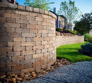 a retaining wall can turn your yard into a showpiece