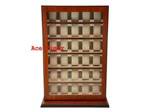 Display Cases For Sale In Orange County 30 Mahogany Stand Wall Mount Display Storage