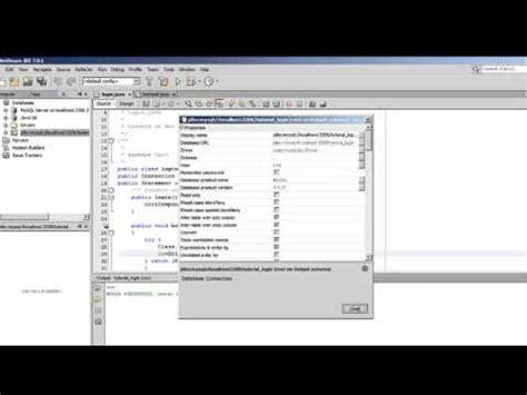 membuat form login sederhana dengan netbeans tutorial membuat login form dengan menggunakan netbeans