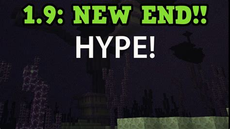 minecraft 1 9 new end design mobs changing