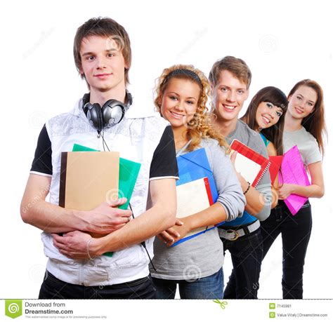 imagenes jovenes alegres grupo de estudiantes sonrientes jovenes imagen de archivo