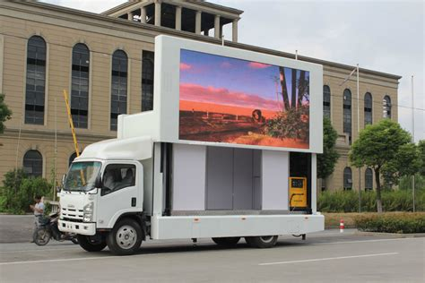 mobile by conduit china p10 mobile led display truck for ad media outdoor