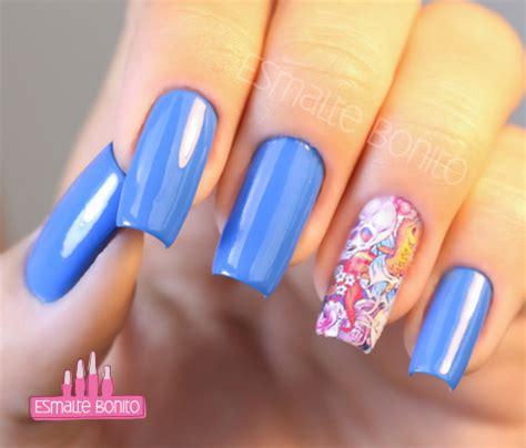 Manicure Di Nail Plus blue lagoon nail plus adesivo de unha esmalte bonito