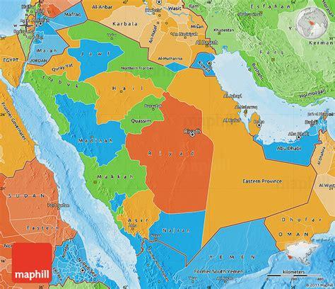 political map of saudi arabia political map of saudi arabia political shades outside