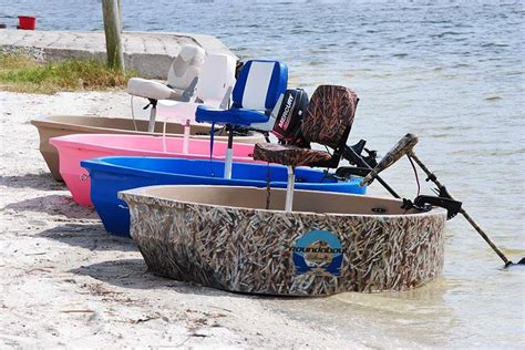 round fishing boat video round boat roundabout round skiff ultra shallow one or