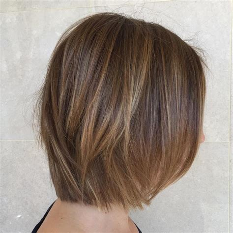 bobbed hair cuts with light coulr at bottom 45 ideas for light brown hair with highlights and