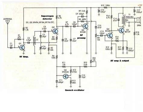 tr layout nedir 6 transistor vhf super regenerative receiver